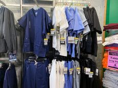 Robinhood Workwear Products and shirts and scrubs